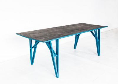 'U1 Görlitzer Bahnhof' table by Studio Andree Weissert - top view