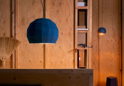 Scotch Club lamps (blue) by Massalah & Apparatu for Marset