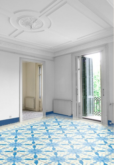 m² Hydraulic tiles by Bussoga - batedroes