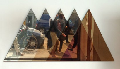 Transience Mirror - triangular - by David Derksen