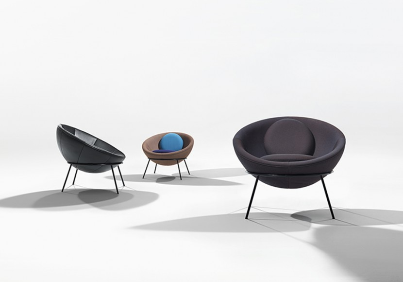 Bardi's Bowl Chairs by Arper