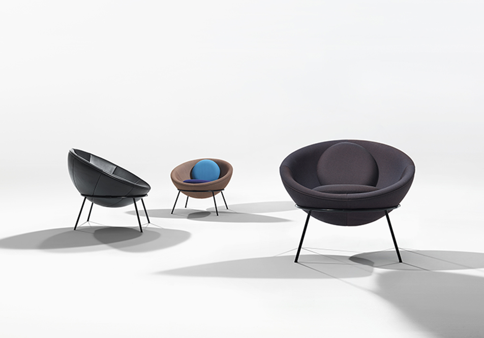 bardi s bowl chairs by arper
